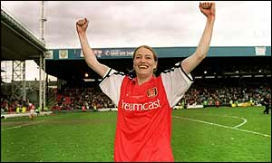 Arsenal striker Angela Banks