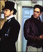 Colin Firth and Rupert Everett