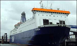 De 31000 ton wegende Norsea werd in 1986 te water gelaten door de Britse Koningin-moeder. De bemanning telt 107 koppen. Het is 179 meter lang en 25 meter breed en kan 1250 passagiers vervoeren. De Norsea kan ook 850 personenauto's of 180 vrachtwagens vervoeren. Het schip is uitgerust met twee 24-persoons reddingsboten en vier grotere reddingsboten. Er zijn ook nog eens 44 opblaasbare reddingsvlotten.