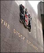 London Stock exchange exterior