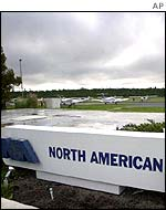 North American flying school in South Carolina
