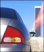 Nissan Sentra tail-light