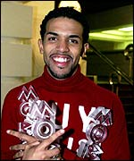 Craig David at the Mobos 2000