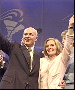 Iain Duncan Smith and his wife, Betsy, at last year's party conference