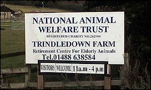 Trindledown Farm sign