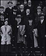 The TUC General Council in 1921 when it first met