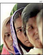 South Asian women affected by poverty