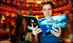 Girl at The Proms