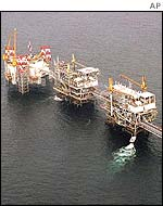 Offshore oil rig - Angola