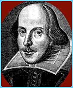 William Shakespeare: spelt his own name in different ways
