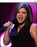 Kelly Clarkson of American Idol