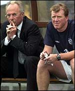 Steve McClaren (right) and Sven-Goran Eriksson
