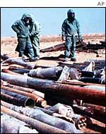Destruction of Iraqi chemical weapons