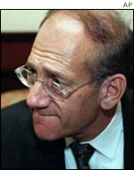 Mayor of Jerusalem Ehud Olmert