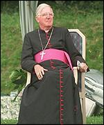 The Archbishop of Westminster, Cardinal Cormac Murphy O'Connor
