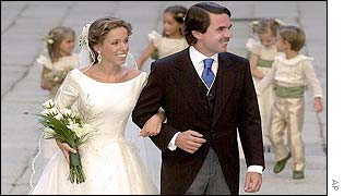 Ana Aznar and Jose Maria Aznar