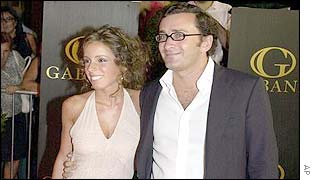 Ana Aznar and husband-to-be Alejandro Agag