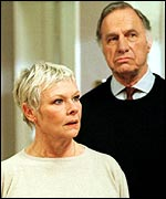 With Geoffrey Palmer in As Time Goes By