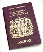 British European Union passport