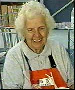 B&Q employee Connie Cox