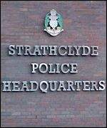 Strathclyde Police sign
