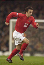 Wales and Tottenham midfielder Simon Davies