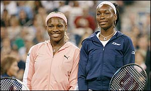 Serena and Venus have played each other three times in Grand Slam finals this year