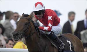 Rock of Gibraltar, ridden by Mick Kinane