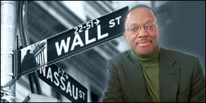 Alvin Hall returns to Wall Street one year on from the 11 September attacks