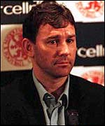 Former England captain and coach Bryan Robson