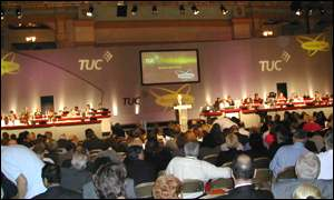 The Iraq debate rumbles at the TUC annual congress in Blackpool