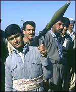PUK fighters