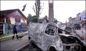 There has been months of violence in east Belfast