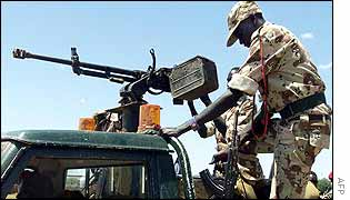 SPLA anti-aircraft gun