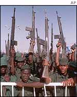 Sudanese recruits