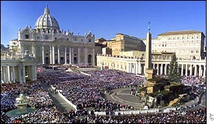 St. Peters Square at the Vatican City