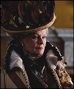 Dame Judi Dench as Lady Bracknell in the Wilde classic
