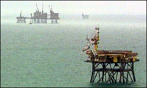 North Sea, BBC