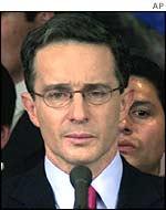 President Alvaro Uribe