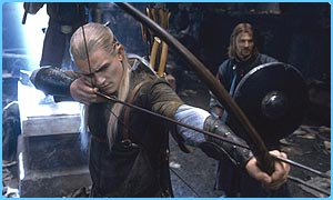 Orlando Bloom won many fans and hearts playing Legolas in Lord of the Rings