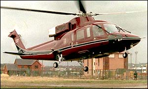 Sikorsky S76 helicopter of the Royal Flight