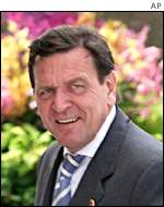 Gerhard Schroeder of the SDP