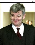 Joschka Fischer of the Greens