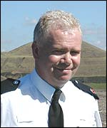 Superintendent Josh Jones of South Wales Police