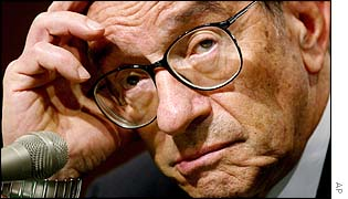 Alan Greenspan, chairman, Federal Reserve