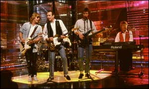 Status Quo on Top of the Pops