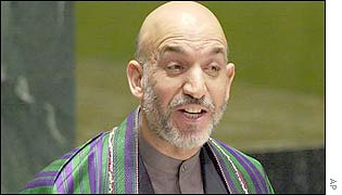 President Karzai addresses the UN General Assembly