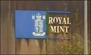 Royal Mint sign