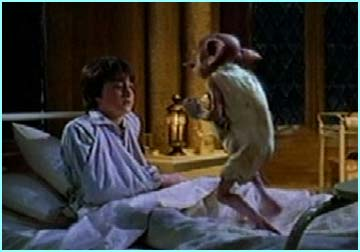 Dobbie leaps across Harry's bed
