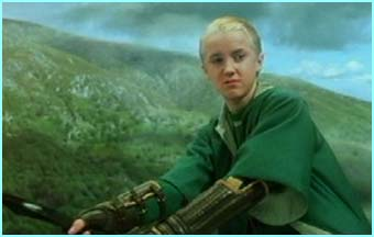 Draco can sneer like the best of 'em